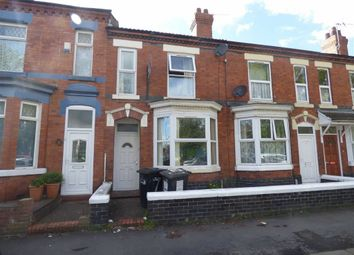 Thumbnail 2 bedroom terraced house for sale in Westminster Street, Crewe