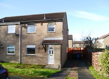 Thumbnail 2 bed semi-detached house for sale in Wroxham Court, Meadow Rise, Newcastle Upon Tyne