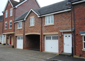 Thumbnail 2 bedroom terraced house for sale in Vistula Crescent, Swindon