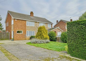 Thumbnail 3 bed semi-detached house for sale in Little Paxton, St Neots, Cambridgeshire