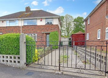 Thumbnail 3 bed semi-detached house for sale in Masefield Avenue, Swindon, Wiltshire