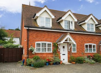 Thumbnail 2 bedroom semi-detached house for sale in Old Forge Mews, Melton, Woodbridge