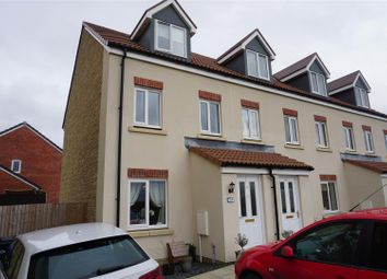 Thumbnail 3 bed terraced house for sale in Caretakers Close, Melksham