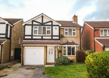 Thumbnail 4 bed detached house for sale in Thistledown Drive, Ixworth, Bury St Edmunds