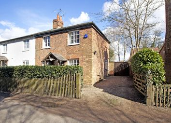 Thumbnail 4 bedroom semi-detached house to rent in Rowan Tree Cottage, Shurlock Road, Waltham St. Lawrence, Reading