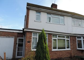 Thumbnail 2 bedroom semi-detached house to rent in Wellesbourne Road, Mount Nod, Coventry, West Midlands