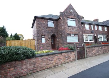 Thumbnail 4 bed end terrace house for sale in Manley Road, Huyton, Liverpool, Merseyside