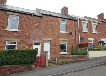 Thumbnail 2 bed terraced house to rent in Blanche Terrace, Tantobie, Stanley
