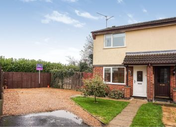 Thumbnail 2 bedroom semi-detached house for sale in Henry Warby Avenue, Elm, Wisbech