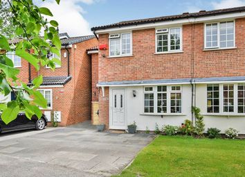Thumbnail 3 bed semi-detached house for sale in Muirfield Close, Wilmslow
