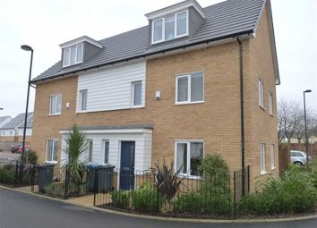 Thumbnail 3 bed semi-detached house to rent in Bowhill Way, Harlow, Essex