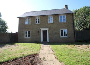 Thumbnail 4 bed detached house to rent in Harradine Close, Woodhurst, Huntingdon
