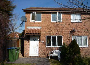 Thumbnail 2 bedroom end terrace house to rent in Yarrow Way, Locks Heath, Southampton