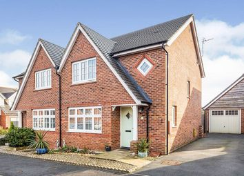 Thumbnail 3 bed semi-detached house for sale in Green Meadow Rise, Penymynydd, Chester