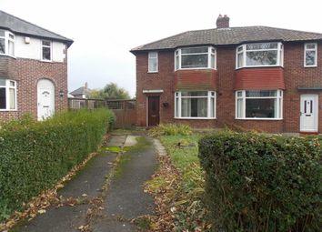 Thumbnail 3 bed semi-detached house for sale in Currock Park Avenue, Carlisle, Carlisle