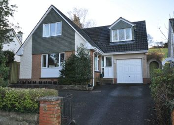 Thumbnail 4 bed detached bungalow for sale in Sandford Close, Barnstaple