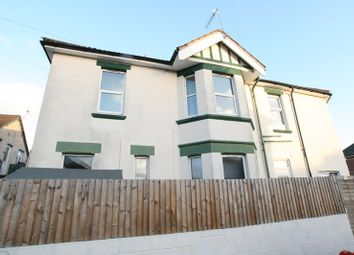 Thumbnail 2 bed flat for sale in Brownen Road, Winton, Bournemouth