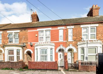 Thumbnail 3 bed terraced house for sale in Ombersley Road, Bedford