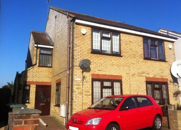 Thumbnail 4 bed semi-detached house for sale in Stanwell New Road, Staines