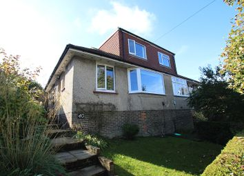 Thumbnail 3 bed semi-detached house for sale in Woodbourne Avenue, Brighton, East Sussex.