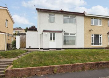 Thumbnail 3 bed semi-detached house for sale in Chadwick Close, Newport