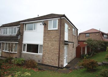 Thumbnail 3 bed semi-detached house for sale in Overdell Drive, Shawclough, Rochdale