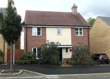 Thumbnail 4 bed detached house to rent in Evergreen Way, Ashford