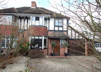 Thumbnail 3 bed semi-detached house to rent in Kingsway, Petts Wood, Orpington