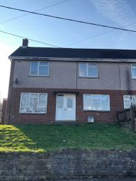 Thumbnail 3 bedroom semi-detached house to rent in Heol Llwynbedw, Swansea