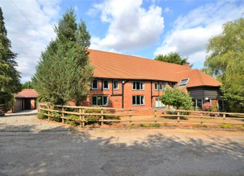 Thumbnail 5 bed barn conversion for sale in Clay Hill, Beenham, Reading, Berkshire