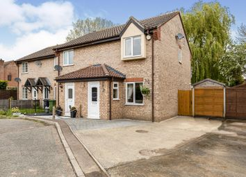 Thumbnail 2 bed end terrace house for sale in Keeling Way, Attleborough