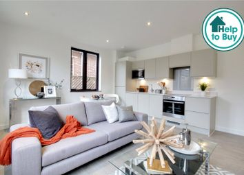 Thumbnail 1 bed flat for sale in Chertsey Boulevard, Hanworth Lane, Chertsey, Surrey