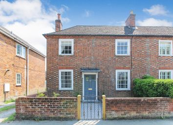 Thumbnail 2 bed end terrace house for sale in Shaw Road, Newbury