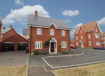 Thumbnail 3 bed detached house for sale in Downham Close, Great Denham