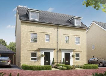 """Thumbnail 4 bed end terrace house for sale in """"Rochford"""" at Lower Road, Hullbridge, Hockley"""