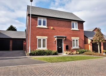 Thumbnail 4 bed detached house for sale in Rookery Close, Sapcote