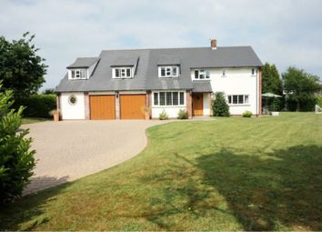 Thumbnail 5 bed detached house for sale in Staplehay, Trull, Taunton