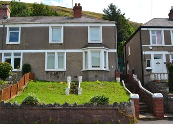 Thumbnail 3 bed semi-detached house for sale in Danyffynnon, Port Talbot, Neath Port Talbot.
