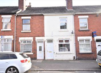Thumbnail 3 bedroom terraced house to rent in Corporation Street, Stoke, Stoke-On-Trent
