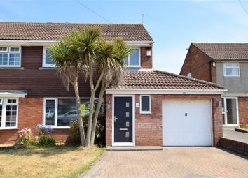 Thumbnail 3 bed semi-detached house for sale in Liscum Way, Barry