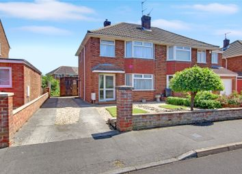 Thumbnail 3 bed semi-detached house for sale in Birchwood Road, Stratton, Swindon, Wiltshire