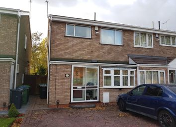 Thumbnail 3 bed property to rent in Devereux Road, West Bromwich
