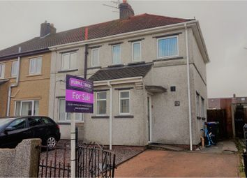 Thumbnail 3 bed semi-detached house for sale in Ty Gwyn Road, Pontypool
