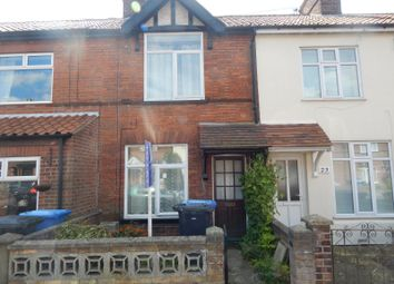 Thumbnail 3 bedroom terraced house to rent in Hughenden Road, Norwich