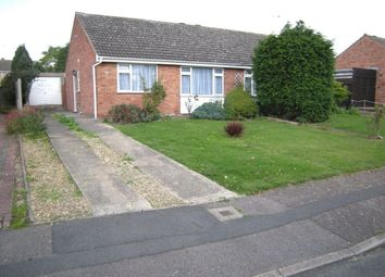 Thumbnail 2 bed bungalow to rent in Hamble Road, Oadby