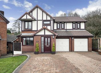 Thumbnail 4 bed detached house for sale in Lowstern Close, Egerton, Bolton