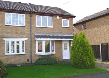 Thumbnail 3 bed semi-detached house to rent in Wagon Road, Greasbrough, Rotherham