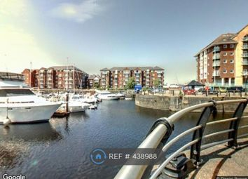 Thumbnail 1 bed flat to rent in Marina, Maritime Quarter, Swansea