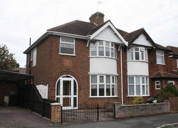 Thumbnail 3 bed semi-detached house for sale in Brading Road, Leicester
