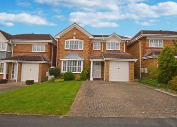Thumbnail 4 bedroom detached house for sale in Horseshoe Crescent, Peatmoor, Swindon
